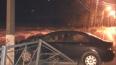 На Приморском шоссе иномарка едва не улетела в залив