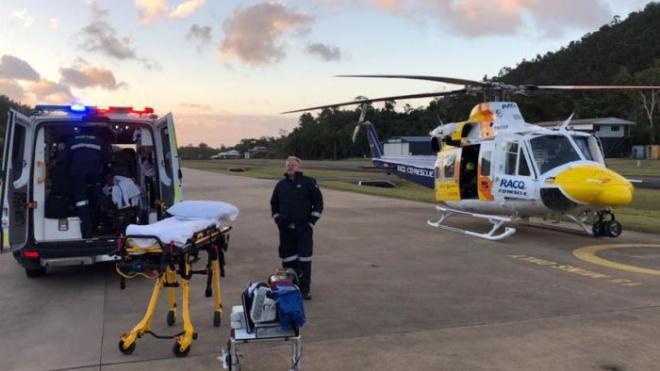 В Австралии варан отправил мужчину в больницу и убил его собаку
