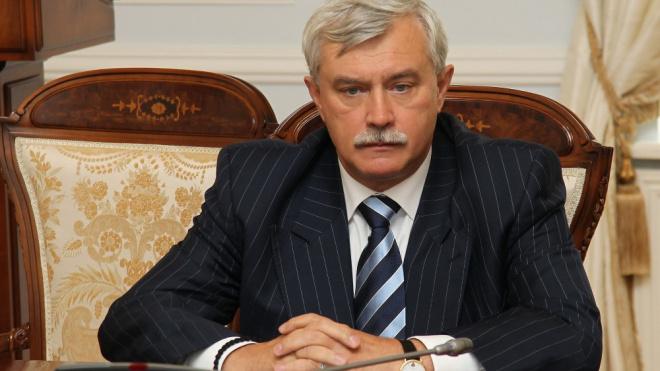 Георгия Полтавченко наградят за особый вклад в развитие Петербурга