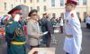 Суворовцам вручили аттестаты и медали в Петербурге