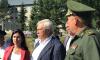 Полтавченко посетил оборонно-патриотические сборы в поселке Саперный