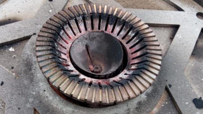 """Вечный огонь на мемориале """"Разорванное кольцо"""" погас"""