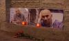 На Невском возложили цветы в память об убитых журналистах в Африке