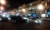В ночном ДТП на Невском разбились сразу шесть автомобилей
