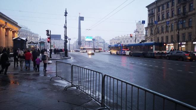 Движение по Невскому проспекту восстановили после протестной акции