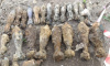 В Калининском районе нашли 24 снаряда времен войны