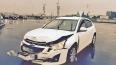 """Chevrolet эффектно """"забодал"""" Subaru на углу Синопской ..."""