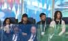 На трибунах замечен солист британской группы The Rolling Stones Мик Джаггер