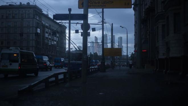 В Москве ожидается дождь с грозой и ветром