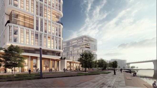 Градостроительный совет Петербурга в третий раз рассмотрел проект гостиницы в Пьяной гавани