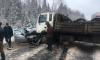 Движение на трассе А-114 в Ленобласти перекрыли из-за аварии