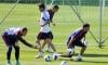 Футболисты российской сборной провели тренировку на базе Зенита