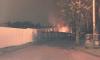 На Герасимовской ночью тушили пожар