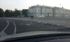 На Дворцовой площади заметили кучи мусора