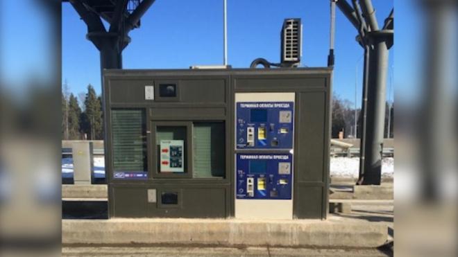 На трассе М-11 Москва-Петербург установят 70 автоматов приема платежей