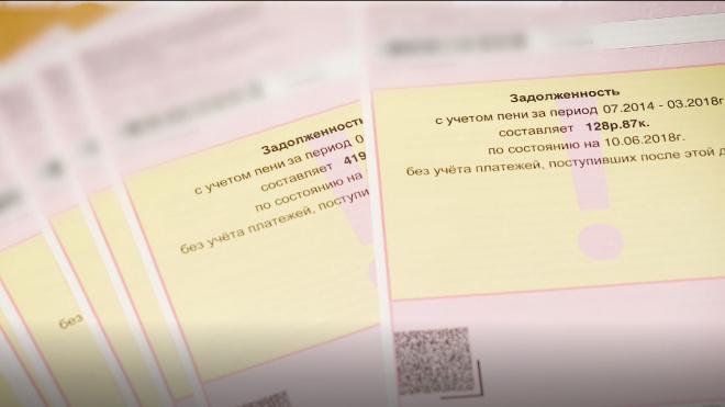 """В Петербурге на три месяца """"заморозят"""" пени за неуплату ЖКХ"""