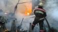 На набережной Екатерингофки произошел крупный пожар