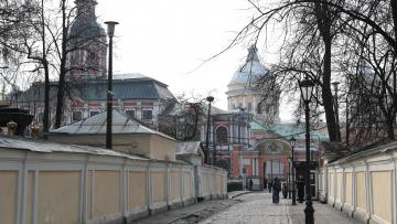 Работы по реставрации фасадов Благовещенской церкви ...