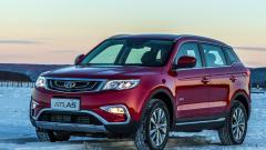 Geely отзывает в России более 18 тысяч автомобилей