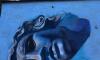 На Апраксином переулке художница нарисовала античную статую