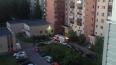 На проспекте Ветеранов утром горела квартира в многоэтаж ...