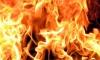 В Красном Бору горит полигон токсичных отходов
