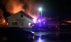 В Токсово вспыхнул деревянный дом