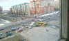 На перекрестке Богатырского и Стародеревенской сломался светофор