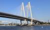 На Большом Обуховском мосту закрываются на ремонт две полосы движения