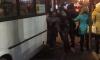 В Петербурге недовольные мигранты поколотили автобус и угрожали водителю