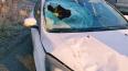 На трассе в Ломоносовском районе пешеход получил перелом...