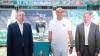 В Петербург доставили Кубок чемпионата Европы по футболу...