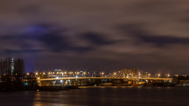 С 4 на 5 ноября не будут разводить петербургские мосты
