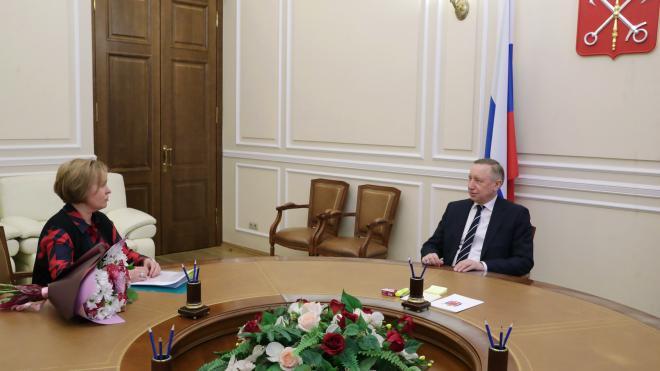 В Петербурге прошла рабочая встреча с уполномоченным по правам ребенка Анной Митяниной