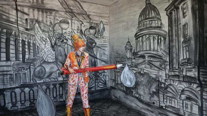 Юная художница из Лос-Анджелеса расписала часовню в Ленобласти