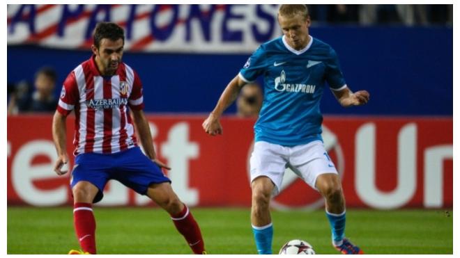 26 ноября: Зенит и Атлетико проведут ответный матч