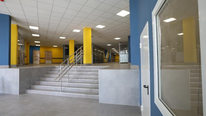 В Невском районе ввели в эксплуатацию школу на 825 мест