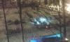 В Невском районе засекли ночного поджигателя машин