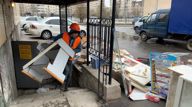 ККИ освободил незаконно занятые помещения в семи районах Петербурга