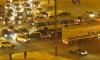 В Красногвардейском районе столкнулись четыре черные иномарки