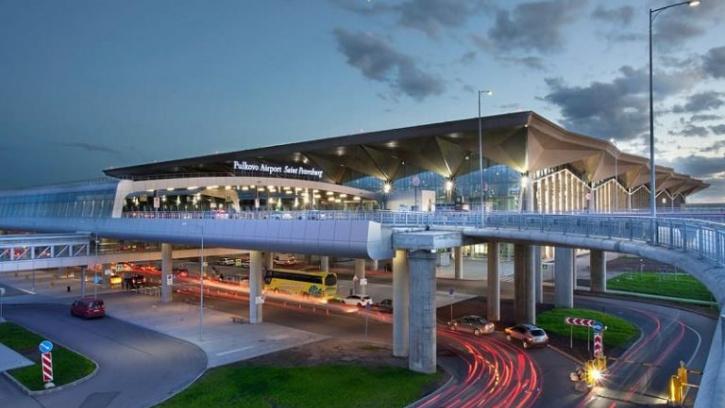 В Пулково расширили выезд из зоны прибытия пассажирского терминала