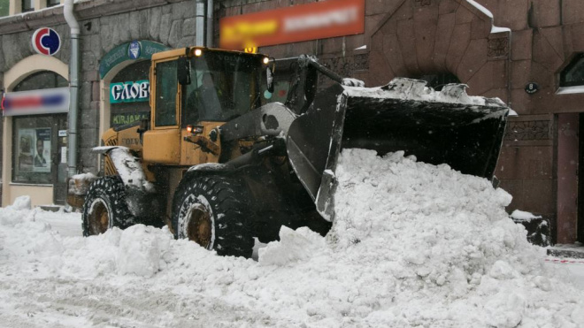 Администрация Выборгского района опубликовала график уборки снега с 8 по 11 февраля