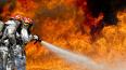 Три машины сгорели утром в Красносельском районе