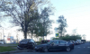 Иномарка въехала в припаркованные автомобили на проспекте Культуры