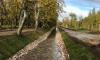 В Петергофе очистили Ольгинский канал