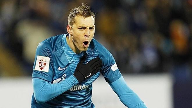 Дзюба станет капитаном сборной России в матче Лиги наций против Турции