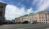 Центр Петербурга встал в пробку из-за ремонта дорог