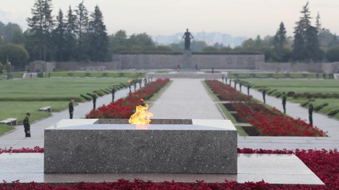 """На Пискаревском кладбище петербуржцы выложат из свечей слова """"Мы помним"""""""
