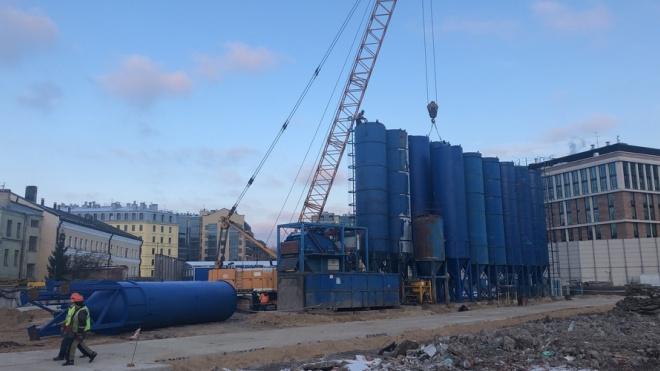 """ГК """"Геоизол"""" начала строительство подземного паркинга в """"Невской ратуше"""""""