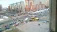 На перекрестке Богатырского и Стародеревенской сломался ...